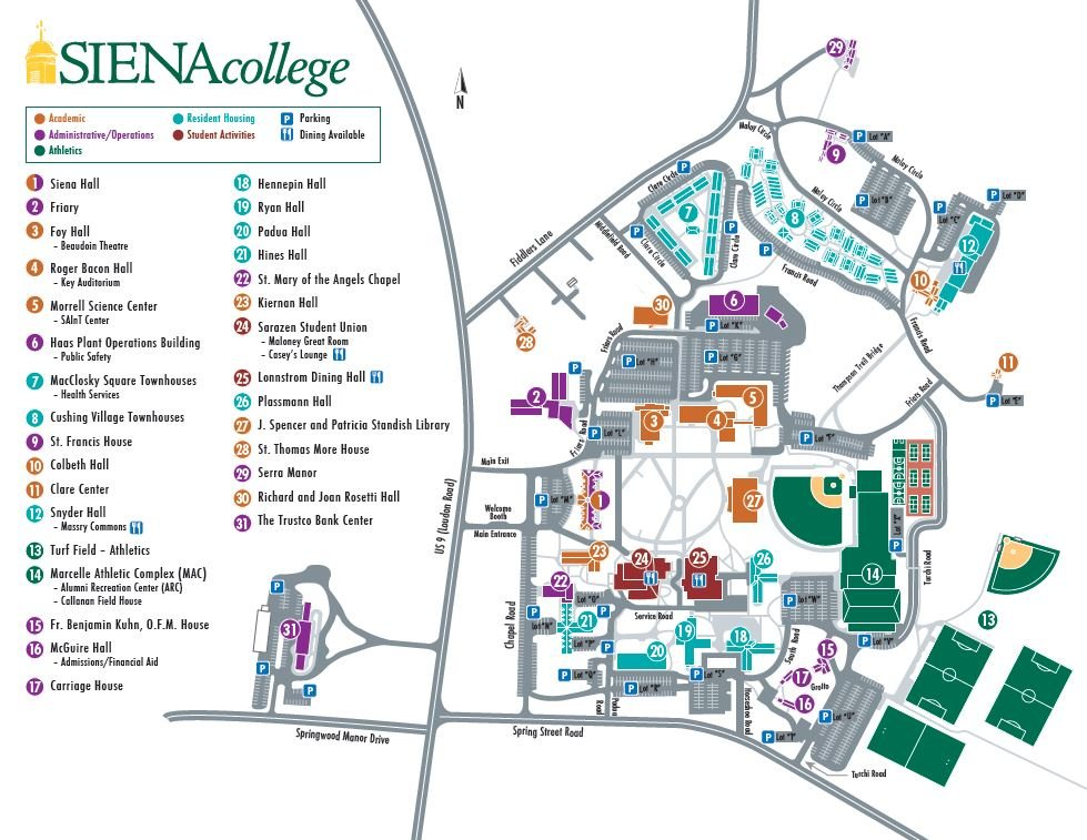 Siena College Map Siena Saints Online   American Red Cross Blood Drive Siena College Map
